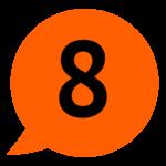Sprechblase Kategorie 8